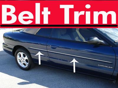 chrysler SEBRING convertible CHROME SIDE BELT TRIM DOOR MOLDING 96-06 08-10