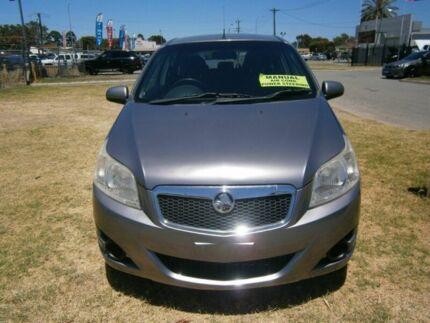 2010 Holden Barina Grey Manual Hatchback