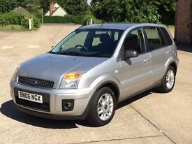 Ford Fusion Zetec Climate 1.4 TDCI(06) Diesel - 5 door - 74,000 miles - SH + New Cambelt - Warranty