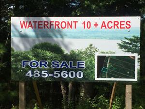 10 Acres of Waterfront property on the Washademoak Lake