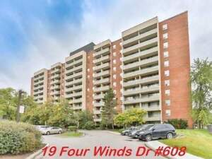 Four Winds Dr., 3 Bedroom Condo Apt