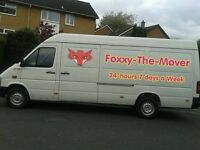 """FOXXY THE MOVER"" - Man & Van - ANYTIME ANY PLACE ANYWHERE!!! *24/7 SERVICE*"