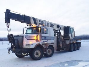 2010 Western Star 40Ton Picker with trailer