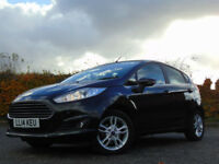 FORD FIESTA 1.0 ZETEC 5d AUTOMATIC (black) 2014