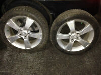 MAZDA 3 205 50 R 17 ALLOY WHEELS WITH TIRES