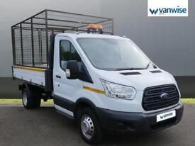 2015 Ford Transit 2.2 TDCi 125ps TIPPER Chassis Cab Diesel white Manual