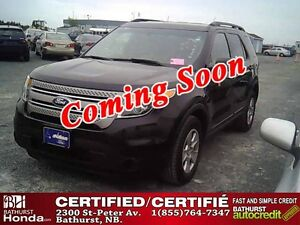 2013 Ford Explorer Certified! 7 Passengers! AWD! Bluetooth! Siri