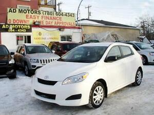 """SALE THIS WEEK"" 2012 TOYOTA MATRIX AUTO LOAD 82K 100% FINANCING"