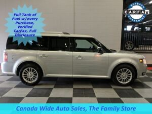 2013 Ford Flex AWD SEL, Leather, Sunroof, 3rd Row Seating