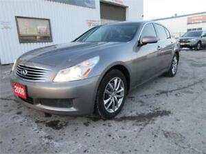 2008 Infiniti G35x Prem Pkg-SUN ROOF,LEATH,ALLOYS,WARRANTY$10550
