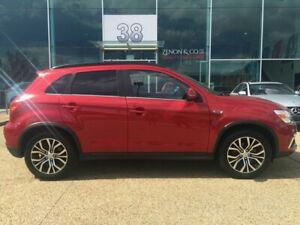 2018 Mitsubishi ASX XC MY18 LS 2WD Red 6 Speed Constant Variable Wagon Fyshwick South Canberra Preview