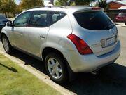 2007 Nissan Murano Z50 TI-L Silver 6 Speed Constant Variable Wagon Victoria Park Victoria Park Area Preview