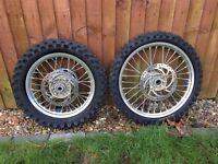 KTM SX85 Small wheel set