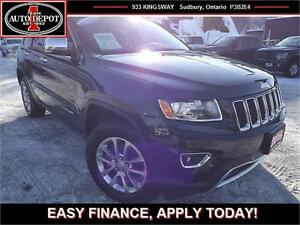 2016 Jeep Grand Cherokee LIMITED!! 4X4!! HEATED LEATHER!! SUNROO