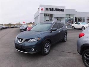2014 Nissan Rogue S SPORT UTILITY awd leather roof NAV -REAR CAM