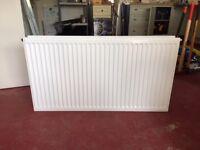 Radiator. Double Panel. White. 1110mm length. Near New.