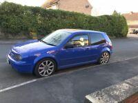 VW Golf 1.8 Turbo, 3 door, Heated Black Recaro Leather 1.8t 20v