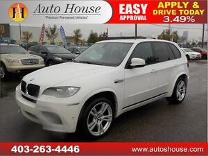 2012 BMW X5M 555HP WHITE ON BLACK FULLY LOADED