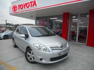 2011 Toyota Corolla ZRE152R MY11 Ascent Silver Pearl 4 Speed Automatic Hatchback Allawah Kogarah Area Preview