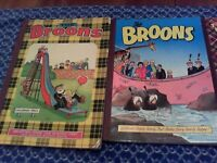 Broons Annuals -1975, 1989, 1995, 2007, 2010