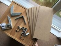 Miscellaneous MDF and lightweight brackets
