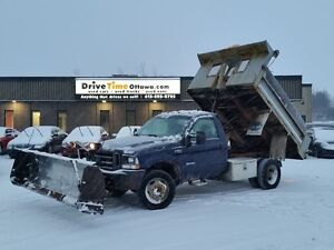 2004 Ford Super Duty F-550 XL 4X4  **10FT DUMP BODY and 9FT FISH