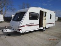 2006 SWIFT CHARISMA 550 4 BERTH FIXED BED CARAVAN ANDERSON CARAVAN SALES