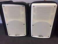 Pair of W Audio PSR / 8i Speakers