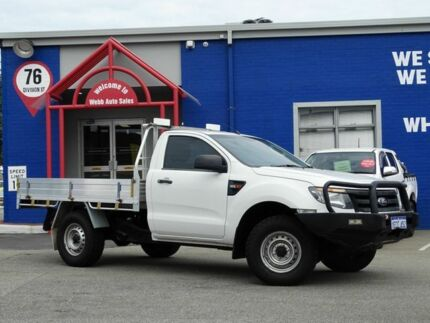 Ford Ranger PX XL X Cool White Speed Automatic Dual - Cool cars 4x4