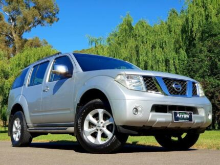 2009 Nissan Pathfinder R51 MY08 ST-L Silver 5 Speed Sports Automatic Wagon Littlehampton Mount Barker Area Preview