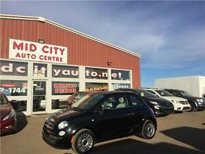 2012 FIAT 500 Lounge  REDUCED TO 8995