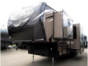 NEW 2015 38 FT HEARTLAND TORQUE 325 TQ TOY HAULER 5TH WHEEL.