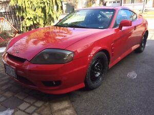 2006 Hyundai Tiburon 2.0L Coupe (2 door)