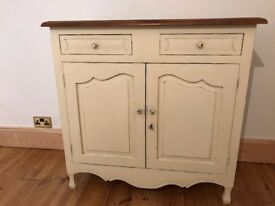 REDUCED: Laura Ashley Cottage Style Antique Look Solid Wood High Quality Sideboard