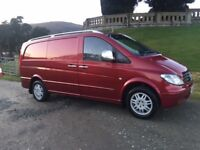 2007 MERCEDES VITO 111 CDI LONG WHEEL BASE **NO VAT**