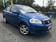 2010 Holden Barina TK MY11 Blue 5 Speed Manual Sedan Kingston Logan Area Preview