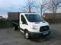 Ford Transit T350 L2 2.2 Tdci 100Ps S cab Tipper DIESEL MANUAL WHITE (2014)