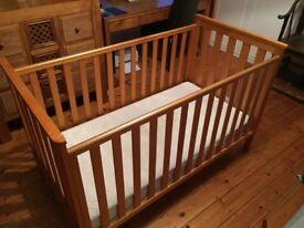 Mothercare Jamestown Cot bed & mattress