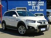 2014 Holden Captiva CG MY15 7 AWD LT White 6 Speed Sports Automatic Wagon Welshpool Canning Area Preview