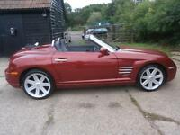 0555 CHRYSLER CROSSFIRE 3.2i V6 AUTOMATIC CONVERTIBLE/ROADSTER 74K FSH 1 OWNER