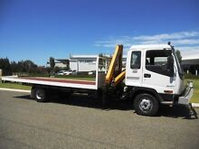 Isuzu 5 Tonne Crane truck with Tray Welshpool Canning Area Preview