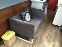 Superb Designer Two Seater Sofa Couch Settee Was £599 Now £90