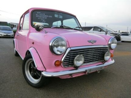 1993 Rover Mini Penelope Pitt-Stop Spe Cooper S Pink Manual Coupe