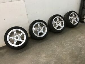 Porsche Forgeline Rims and Tires