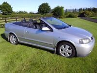 2002 OPEL ASTRA 1.6 BERTONE CONVERTIBLE ### NEW EXHAUST JUST FITTED !!! ###