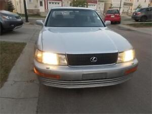 1991 Lexus LS 400...OLD BUT VERY SMOOTH IN DRIVING...$4999