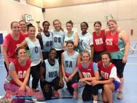 Social netball league in Clapham South - players & teams wanted!