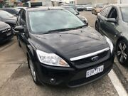 2010 Ford Focus LV LX Black 4 Speed Automatic Hatchback Hoppers Crossing Wyndham Area Preview