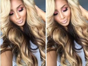 """★★WEAVE EXTENSIONS ONLY $230 WITH INSTALLTION &18""""HUMAN HAIR"""