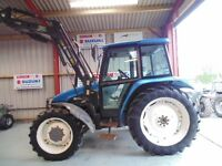 New Holland 6635 4WD, 1999, Reg: S946 PSR